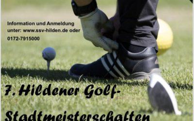 7. Hildener Golf-Stadtmeisterschaft am 25.05.2019