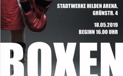 Boxen: NABV Meisterschaft der Männer – 18. Mai 2019