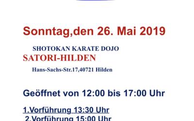Tag der offenen Tür: Karate-Do: 26.05.2019