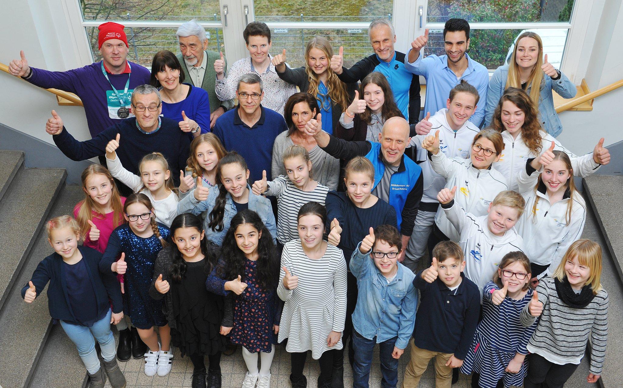 Sportlerehrung Stadt Hilden Gruppenfoto
