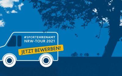 28.10.2020 | Sportvereine als Gastgeber für #SPORTEHRENAMT – NRW-TOUR 2021 gesucht!